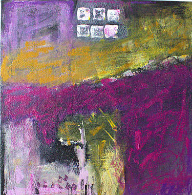 Painting - Ochre 17.1 by Shelley Graham Turner