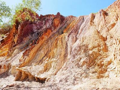 Photograph - Ochre Pits Landscape #2 - West Mcdonald Ranges, Australia by Lexa Harpell
