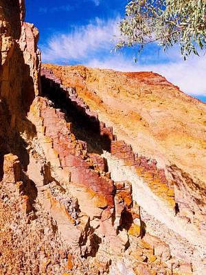 Photograph - Ochre Pits Landscape #3 - West Mcdonald Ranges, Australia by Lexa Harpell