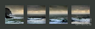Ochre Sky's And Angry Seas Series Original by Paul Davenport