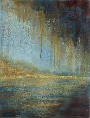 Ochre Tears Original by Patricia Pasbrig