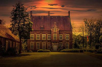 Herbstfarben Photograph - Ochtrup - Haus Welbergen by Kai Jarchow