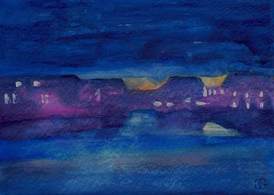 Bayside Painting - Ocmd by Cindy Glazier