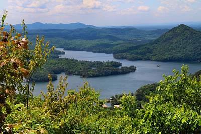 Photograph - Ocoee Lake 2 by Kathryn Meyer