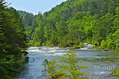 Photograph - Ocoee River by Carol  Bradley