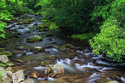 Tennesee Photograph - Oconaluftee River by Bryan Bzdula