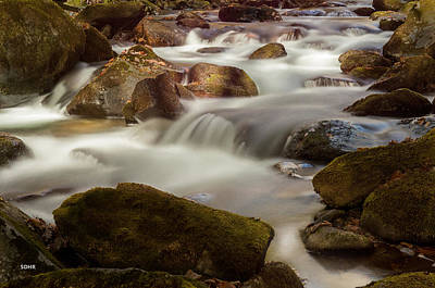 Photograph - Oconaluftee River, Great Smoky Mountains National Park by Dana Sohr