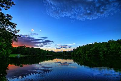 Sunrise Photograph - Oconee State Park by Todd Wise