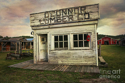 Photograph - O'connor Lumber Co by Lynn Sprowl