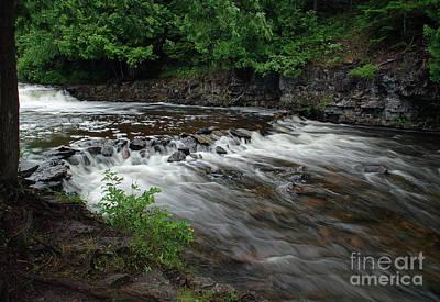 Photograph - Ocqueoc Falls #2 by Randy Pollard