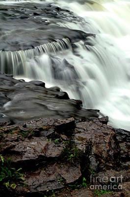 Photograph - Ocqueoc Falls by Randy Pollard
