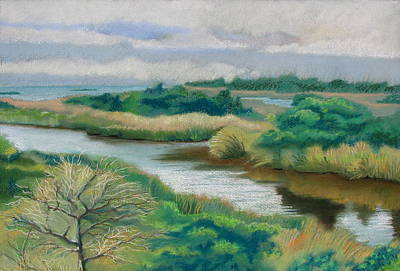 Ocracoke Afternoon Art Print by Shirley Galbrecht