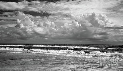 Photograph - Ocracoke Island Outer Banks North Carolina Bw by Dan Carmichael