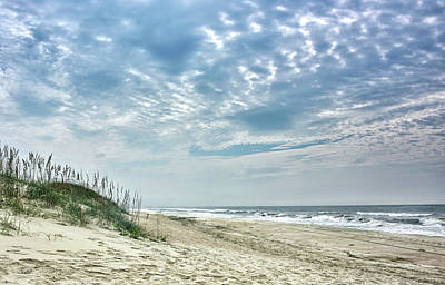 Photograph - Ocracoke Island Public Beach - Outer Banks by Brendan Reals