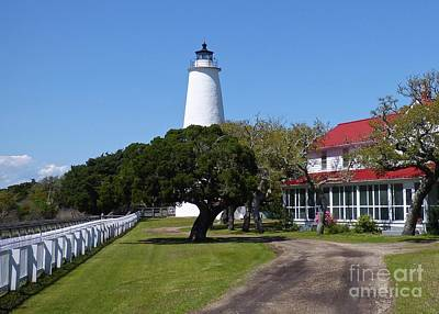 Photograph - Ocracoke Light Station by Jean Wright
