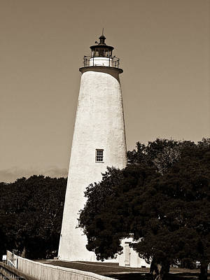 Photograph - Ocracoke Lighthouse by Ches Black