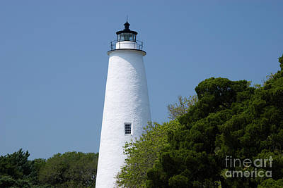Ocracoke Lighthouse Photograph - Ocracoke Lighthouse In Nc by Jill Lang