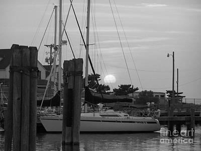 Ocracoke Sunset  Art Print by Randy Edwards