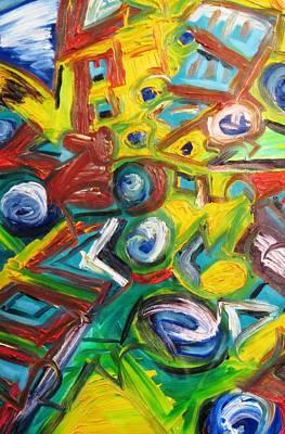 Alfredo Llana Painting - Octagon 1 by Alfredo Dane Llana