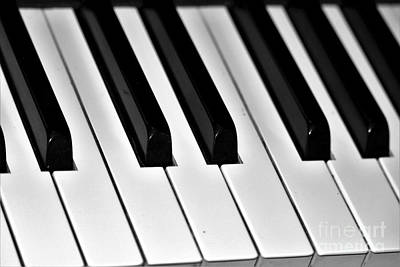 Piano Photograph - Octave by Diann Fisher