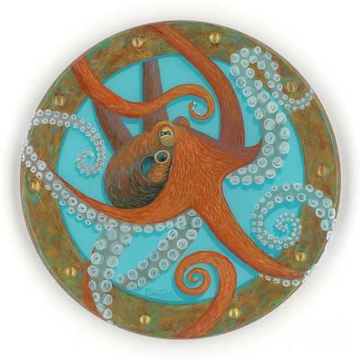 Octo Porthole Art Print
