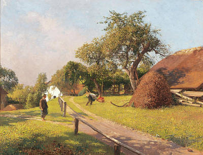Painting - October by Adolph Werner