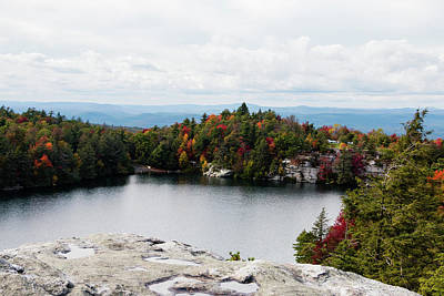 Photograph - October Afternoon At Lake Minnewaska by Jeff Severson