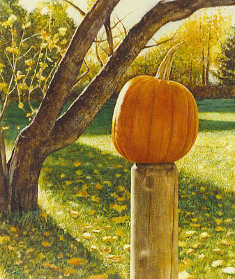 October Afternoon Art Print