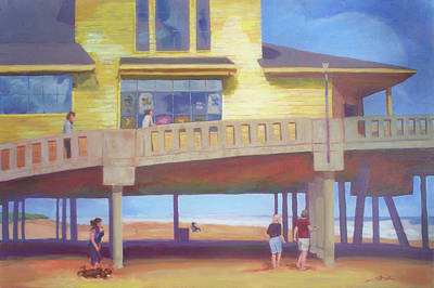Painting - October At Johnnie Mercer's by Carol Strickland