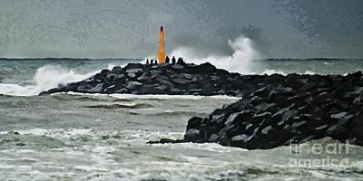 Gale Digital Art - October At The Sea by Wedigo Ferchland