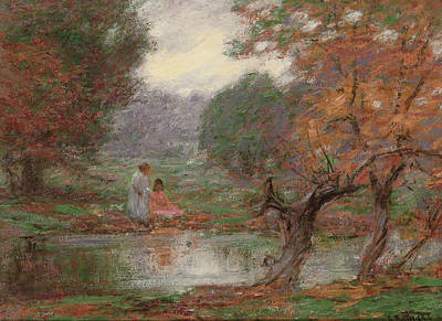 Painting - October Days by Edward Henry Potthast