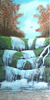 Painting - October Falls by Brenda Bonfield