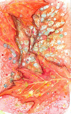 Painting - October Glory Maple by Ashley Kujan