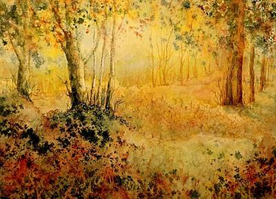 Painting - October Glow by Carolyn Rosenberger