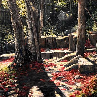 Painting - October In Acadia by Eileen Patten Oliver