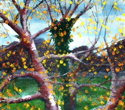 Connaught Painting - October In Leitrim by Jean Davies
