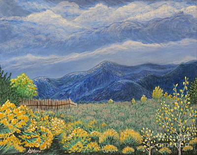 Christo Painting - October In Taos by Aimee Mouw