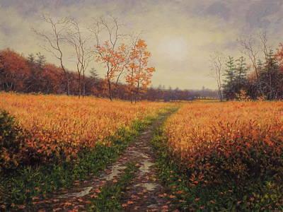 October Light Original by Barry DeBaun