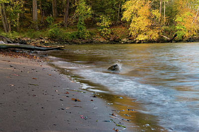 Photograph - October Morning At The Beach by Jeff Severson