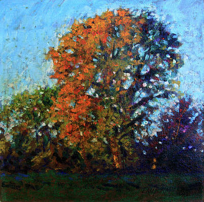 Pastel - October Morning by John Lautermilch