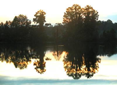 Photograph - October Morning Sunrise by rd Erickson