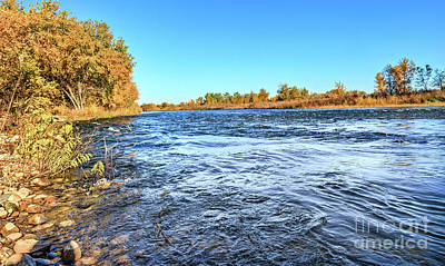 Photograph - October On The Payette River by Robert Bales