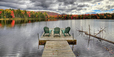 Photograph - October On West Lake by David Patterson