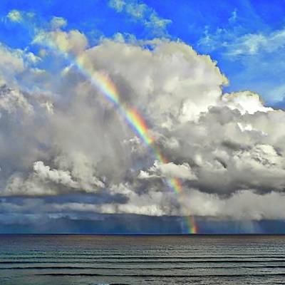 Photograph - October Rainbow In Maui by Kirsten Giving