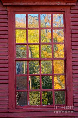 Autum Photograph - October Reflections 2 by Edward Sobuta