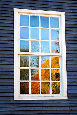 Fall Photograph - October Reflections 4 by Edward Sobuta