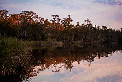 Photograph - October Reflections On The River by Mechala Matthews