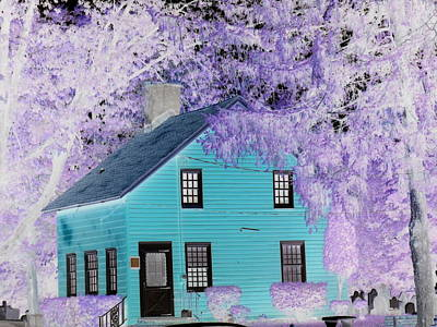 Art Print featuring the photograph October  by Reina Resto