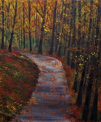 Painting - October Run by Lisa Aerts