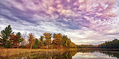 Photograph - October Skies by Peg Runyan